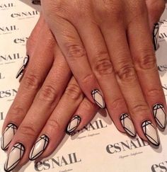 ... to stiletto nails. Plus, they're incredibly easy to do. Choose your base color and let it dry, Then, use a dotting tool to add dots wherever you'd like.