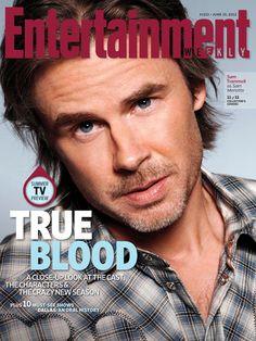 Sam Trammell EW June 15, 2012 cover