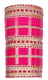 Indian bridal jewellery - Wedding Churas
