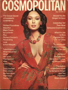 Cosmopolitan magazine, MAY 1973 Model: Lynn Woodruff Photographer: Francesco Scavullo