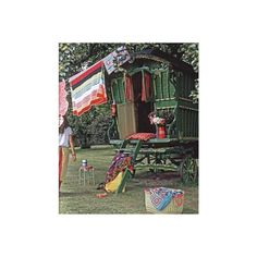 bohemian caravan ❤ liked on Polyvore featuring backgrounds, gypsy, pictures, buildings and caravan