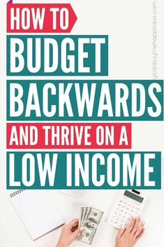How to Budget Backwards and Stop Living Beyond Your Means – Finance tips, saving money, budgeting planner Making A Budget, Create A Budget, Budget Help, Living On A Budget, Family Budget, Budgeting Finances, Budgeting Tips, Budgeting Worksheets, Printable Worksheets