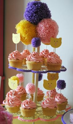 Cat Themed Party Birthday Cake kids birthday cake and party ideas cat theme Some very cute ideas on here!