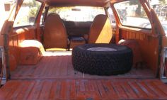 Interior of rear cab the day I bought the 78 RC. Dodge Ramcharger, Offroad, Jeep, Trucks, Interior, Hard Hats, Off Road, Indoor, Jeeps