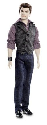 Barbie Collector The Twilight Saga: Breaking Dawn Part II Emmitt Doll by Mattel. $29.99. Inspired by characters from final installment in the Twilight saga, Breaking Dawn. Perfect for Barbie collectors and Twilight fans alike. Recreate your favorite romance. Based on the #1 New York Times Bestselling Twilight Book Series by Stephenie Meyer. Emmett makes his debut dressed in a button-up shirt with vest and jeans. From the Manufacturer Barbie Collector Th...