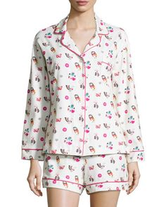 Multi-Printed Shorty Pajama Set by Bedhead at Neiman Marcus.