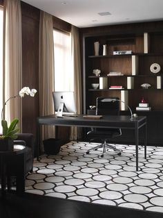 Modern Home Office Design Ideas. Hence, the requirement for house offices.Whether you are planning on including a home office or restoring an old space right into one, right here are some brilliant home office design ideas to help you start. Modern Office Decor, Office Interior Design, Home Office Decor, Office Interiors, Home Interior, Home Decor, Office Ideas, Office Designs, Office Table Design