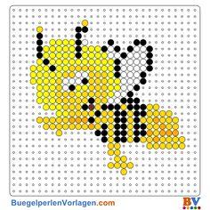 Biene Maja Bügelperlen Vorlage. Auf buegelperlenvorlagen.com kannst du eine große Auswahl an Bügelperlen Vorlagen in PDF Format kostenlos herunterladen und ausdrucken.