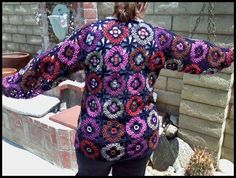 C - Not my granny's square - pics