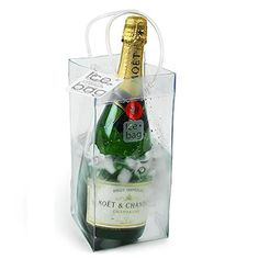 Wine Cellars - Durable PVC Water Resistant Wine Ice Bag  Dim 6Dx 6W x 9H Set of 3 * See this great product.