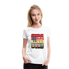 Grunge Rays Sunset Christmas 2021 - Women's Premium T-Shirt | American Flag Apparel Grunge, American Flag, Sunset, Christmas, Tops, Women, Fashion, Elegant, Xmas