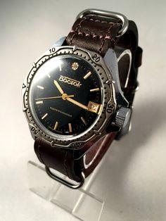 RARE VINTAGE Military men's watch called Vostok by SovietEmpire
