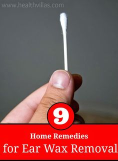 9 Ear Wax Removal Home Remedies | Health Villas