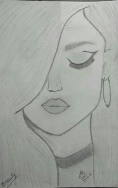You know it kinda looks like selena gomez amazing drawings, easy drawings, cute drawings Easy Pencil Drawings, Easy Drawings Sketches, Cool Art Drawings, Beautiful Drawings, Drawing Ideas, Simple Sketches, Drawing Tips, Pencil Drawing Tutorials, Cool Drawings Tumblr