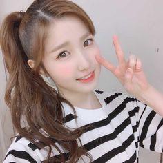 #izone #hitomi 3 In One, Beautiful Asian Girls, Pop Group, Photo Cards, Kpop Girls, Yuri, Beauty, Siopao, Pictures