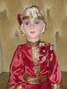 """French Boudoir Doll with """"Unbreakable Eyes"""""""