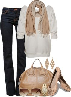 Keep it simple autumn outfit.