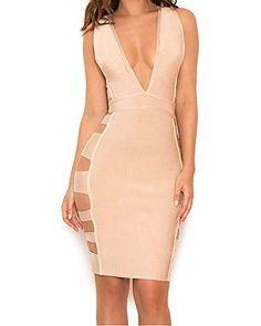 Whoinshop Women's Rayon Sexy Deep V Side Slash Clubwear B... https://www.amazon.com/dp/B01M9APPWO/ref=cm_sw_r_pi_awdb_x_0NmYyb8PZ56J3