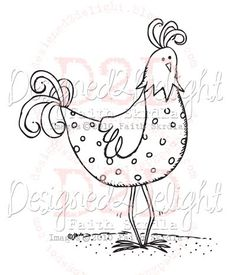 Cluck's Up? Free Digital Stamp ~ July Week 3