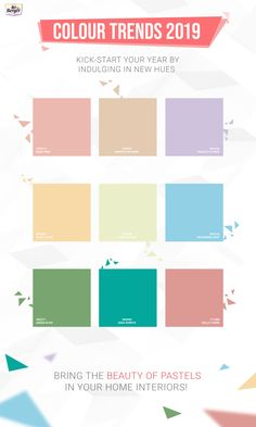 Explore a range of pastel shades and paint your home in a new feel.