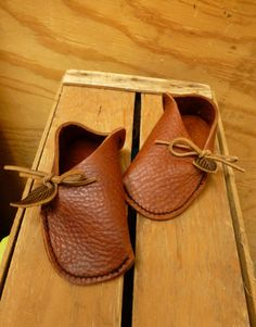 Genius! these are just so sweet & simple!   NEW Children's Soccasin Moccasin / Child Kids by TreadLightGear, $50.00