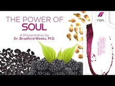 RAIN SOUL - Dr Weeks Talks About the Amazing Health Benefits of Soul - R... Health And Beauty Tips, Health And Wellness, Rain International, Antioxidant Supplements, Make It Rain, I Am Amazing, Body And Soul, Fb Page, Health Benefits