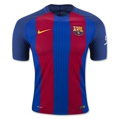 Barcelona 16/17 Authentic Home Soccer Jersey