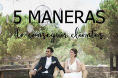 ¿Necesitas cerrar más bodas esta temporada? Descubre 5 maneras de conseguir clientes. Tienes toda la información en el blog.
