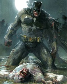 Cool fan art! The Dark Knight is BOSS!