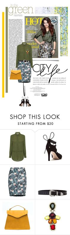 """""""In the Green with Yoins"""" by lacas ❤ liked on Polyvore featuring Chiara Ferragni, B-Low the Belt, Stella Jean and yoins"""
