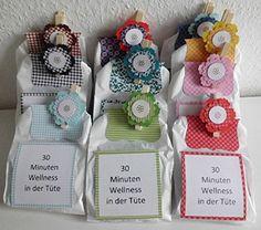 Kreative-Schachtel: Wellness-Tüten