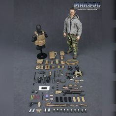 onesixthscalepictures: DAM Toys MARSOC Special Ops Team Operator (Marine Special Operations Regiment) : Latest product news for scale fi. Special Ops, Special Forces, Gi Joe, Airsoft, Marsoc Marines, Military Action Figures, Military Gear, Miniature Figurines, Navy Seals