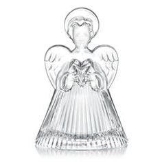"Celebrations by Mikasa Rejoice Angel Tea Light Holder 5.25"""