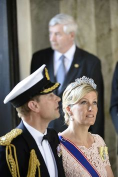 Attending the wedding of Princess Madeleine of Sweden & Chris O'Neil - 8 June 2013