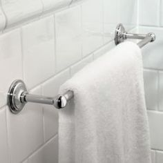 shop for the ginger polished chrome towel bar from the london terrace collection and save towel racks bathroom accessories