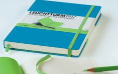 Notebook Duo Blank Azure and Green  £13.50 VAT  Azure is the new colour for 1015. Write, draw, sketch or doodle? Stationery lovers, you will find this notebook duo blank azure and green just exquisite! It is a special edition from Leuchtturm1917  and comes with details that make all the difference!