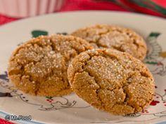 Ginger Crinkles | mrfood.com