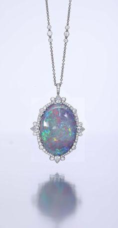 Black Australian opal #opalsaustralia