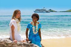 Tropical Island Beauties at Captain Cook Cruises Fiji