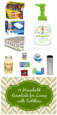 11 household products you need on hand when you have a toddler. #mommyproblems #toddler #household #mom