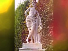 Schönbrunner Schlosspark - Statuen. -