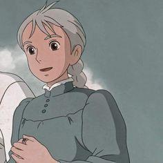 Wallpaper Animes, Cute Anime Wallpaper, Wallpaper Lockscreen, Anime Backgrounds Wallpapers, Animes Wallpapers, Howl Movie, Sophie Howl's Moving Castle, Howls Moving Castle Wallpaper, Anime Studio