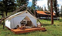 "Resort at Paws Up | Greenough, Montana ""glamping"""