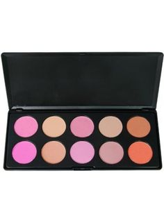 10 Color Makeup Cosmetic Blush Blusher Powder Palette (20% OFF │ $8.94)