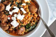 Chorizo Lentil Stew (Soup)