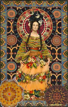 """Flower Skirt"" by Romany Soup"