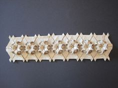 star lengthwise tessellation.