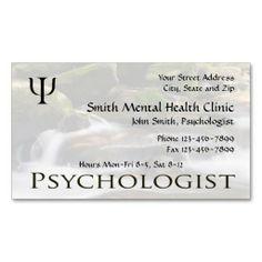 Counselor psychologist mental health business card mental health psychologist mental health business card colourmoves