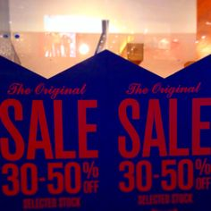 """#retail .say it in big and bold: """"sale"""". Does this make you want to buy? ~ www.icityretail.com"""