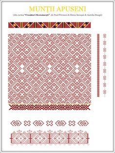 Semne Cusute: model de camasa din MUNTII APUSENI